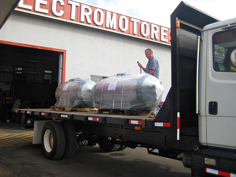 ELECTROMOTORES, Logistics And Transport